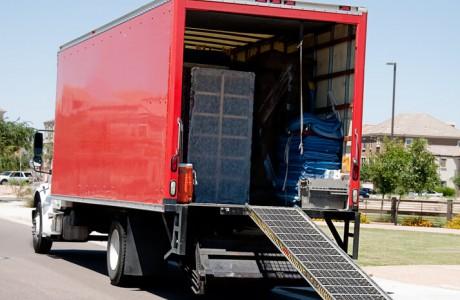 תיקון רמפה למשאית - דופן הרמה הידראולית