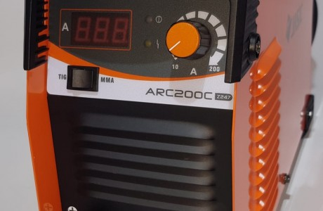 רתכת MMA ARC 200 C (אלקטרודה 6010)